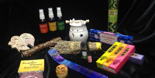 Incense, Sage and Essential Oils