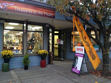 Treasures of the Heart - Metaphysical Sacred Art Gallery - Salt Spring Island